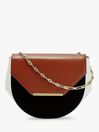 Ted Baker Floriie Leather Cross Body Bag, Tan