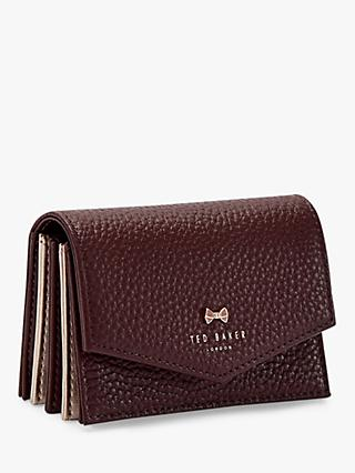 Ted Baker Hiedi Leather Credit Card Holder