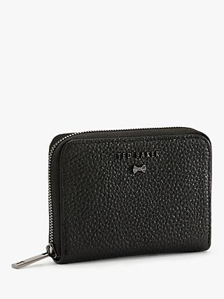 Ted Baker Illdey Leather Zip Around Purse