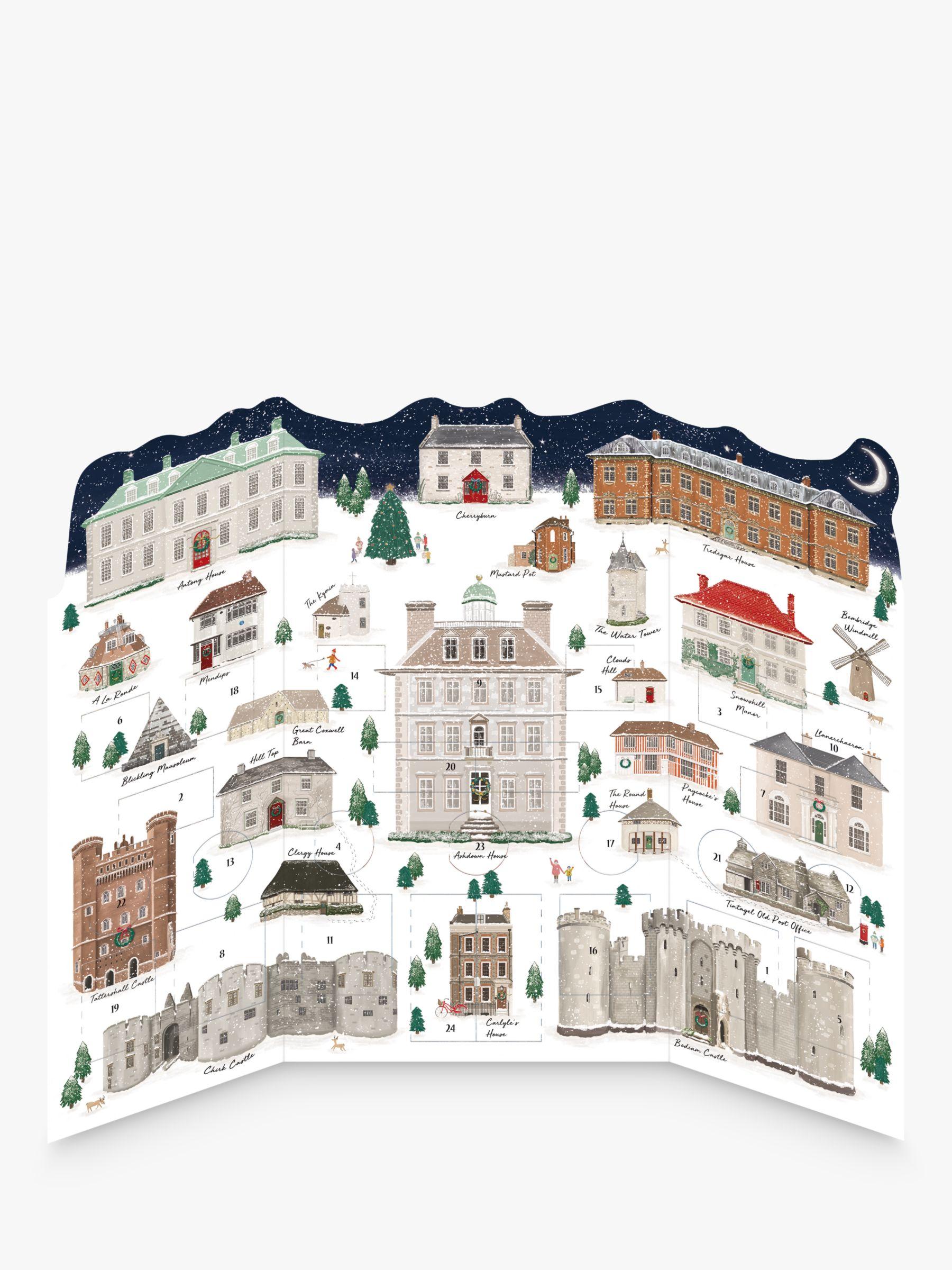 Woodmansterne Woodmansterne National Trust 3D Advent Calendar
