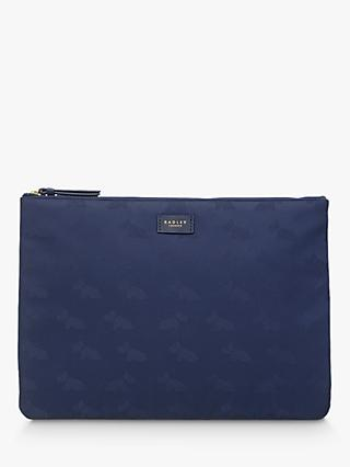 Radley Dog Jacquard Large Pouch, Ink