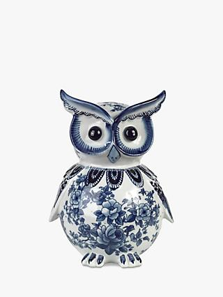 Pols Potten Owl Piggy Bank