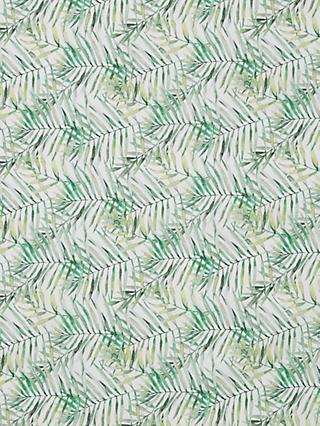 Oddies Textiles Palm Print Fabric, Green
