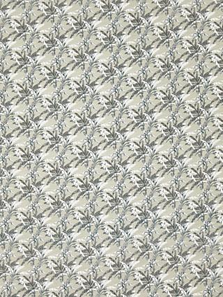 Sevenberry Crinkle Texture Plant Print Cotton Fabric, Multi
