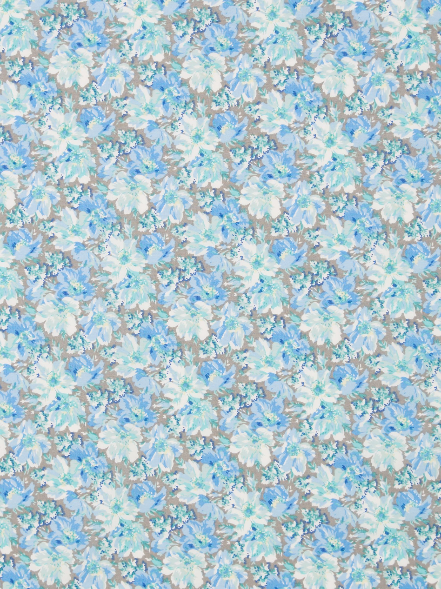 Viyella Viyella Mixed Floral Print Fabric, Blue
