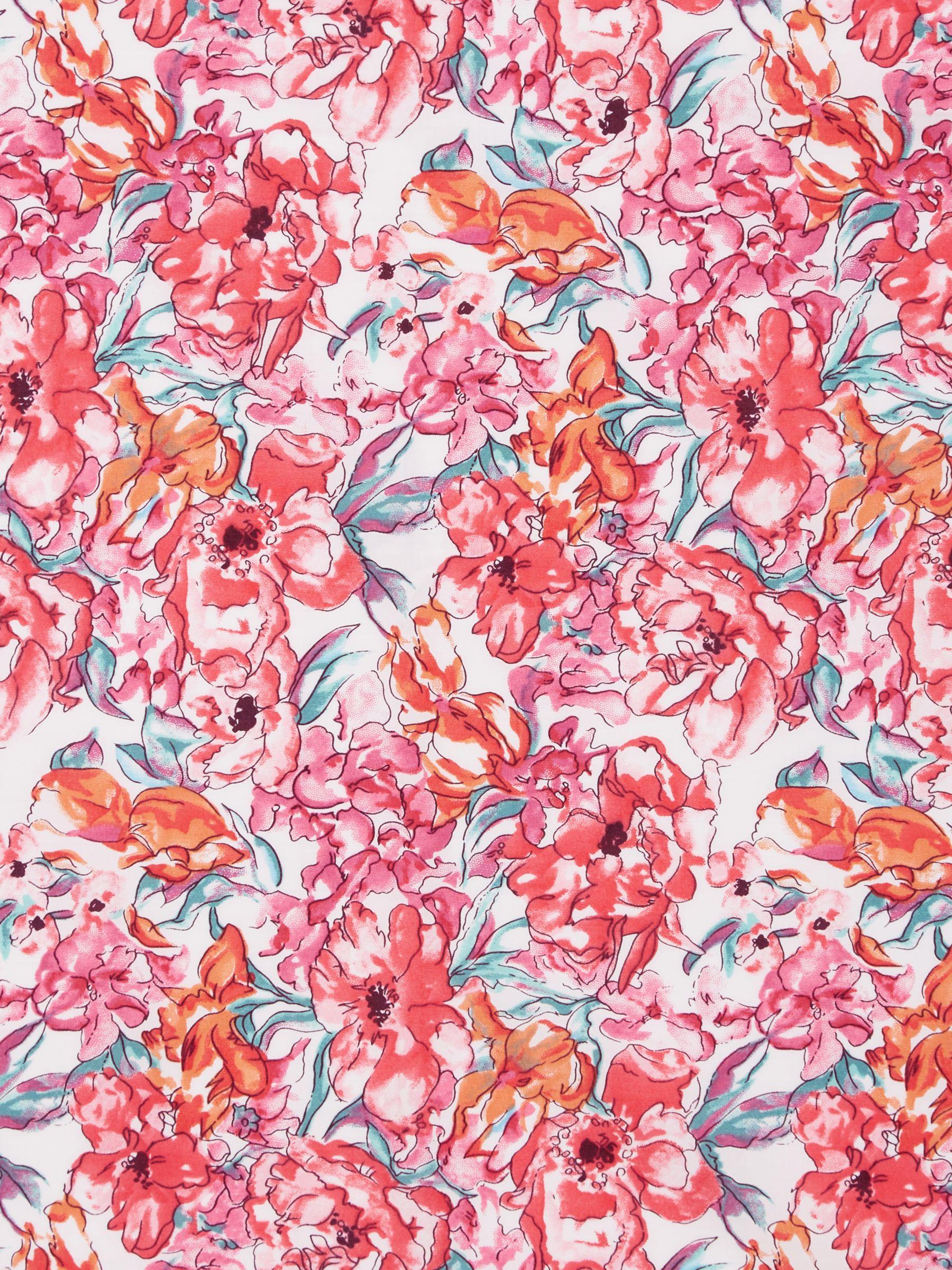 Viyella Viyella Floral Blooms Print Fabric, Pink