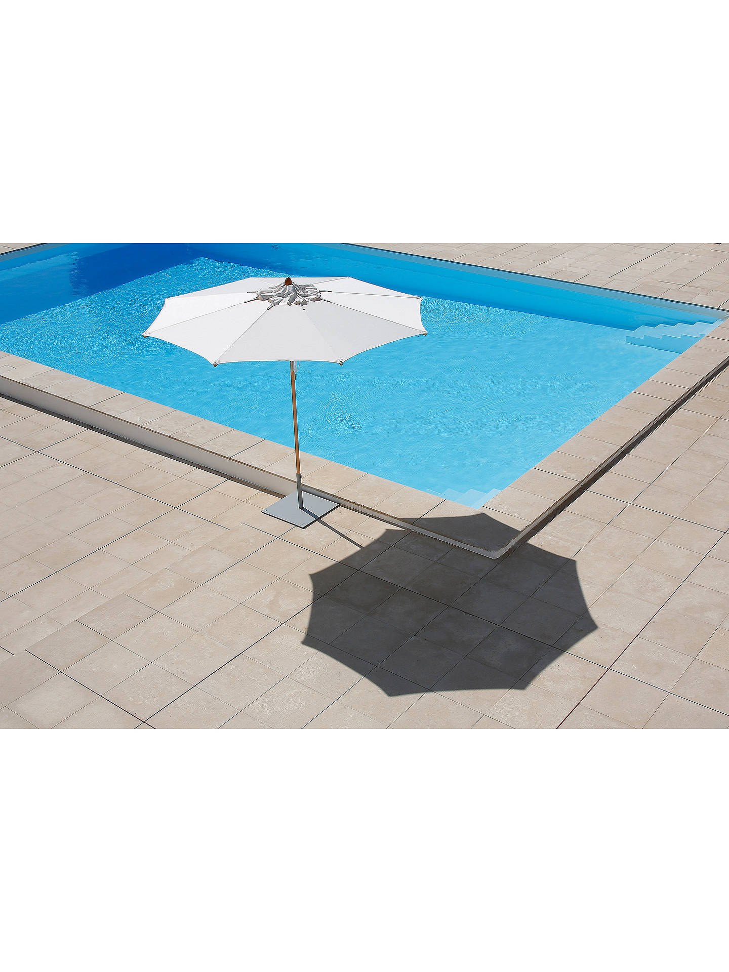 Buy Barlow Tyrie Napoli Freestanding Round Parasol, 2.8m Online at johnlewis.com
