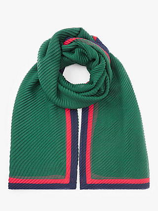 Buy Unmade Fairly Ribbed Scarf, Green/Multi Online at johnlewis.com