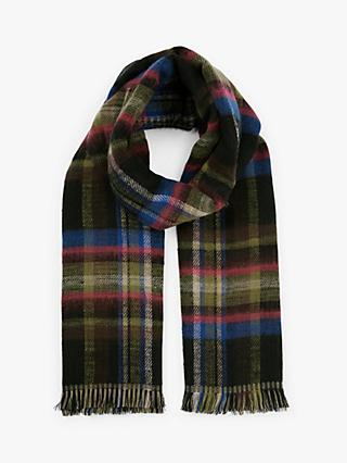 Unmade Cortney Check Scarf, Black/White