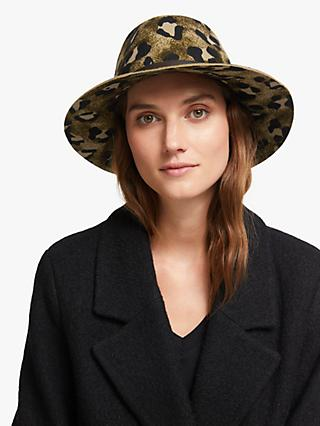 Unmade Coraliss Wool Fedora Hat, Chocolate