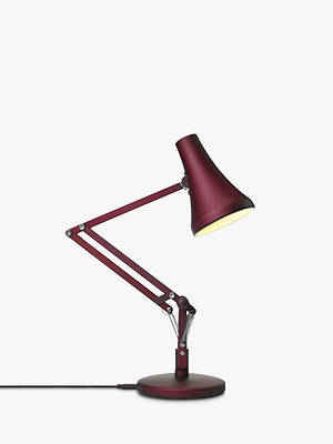 Buy Anglepoise 90 Mini Mini LED Desk Lamp, Berry Red Online at johnlewis.com