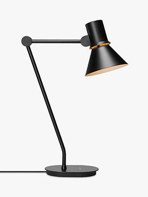 Buy Anglepoise Type 80 Desk Lamp, Matt Black Online at johnlewis.com