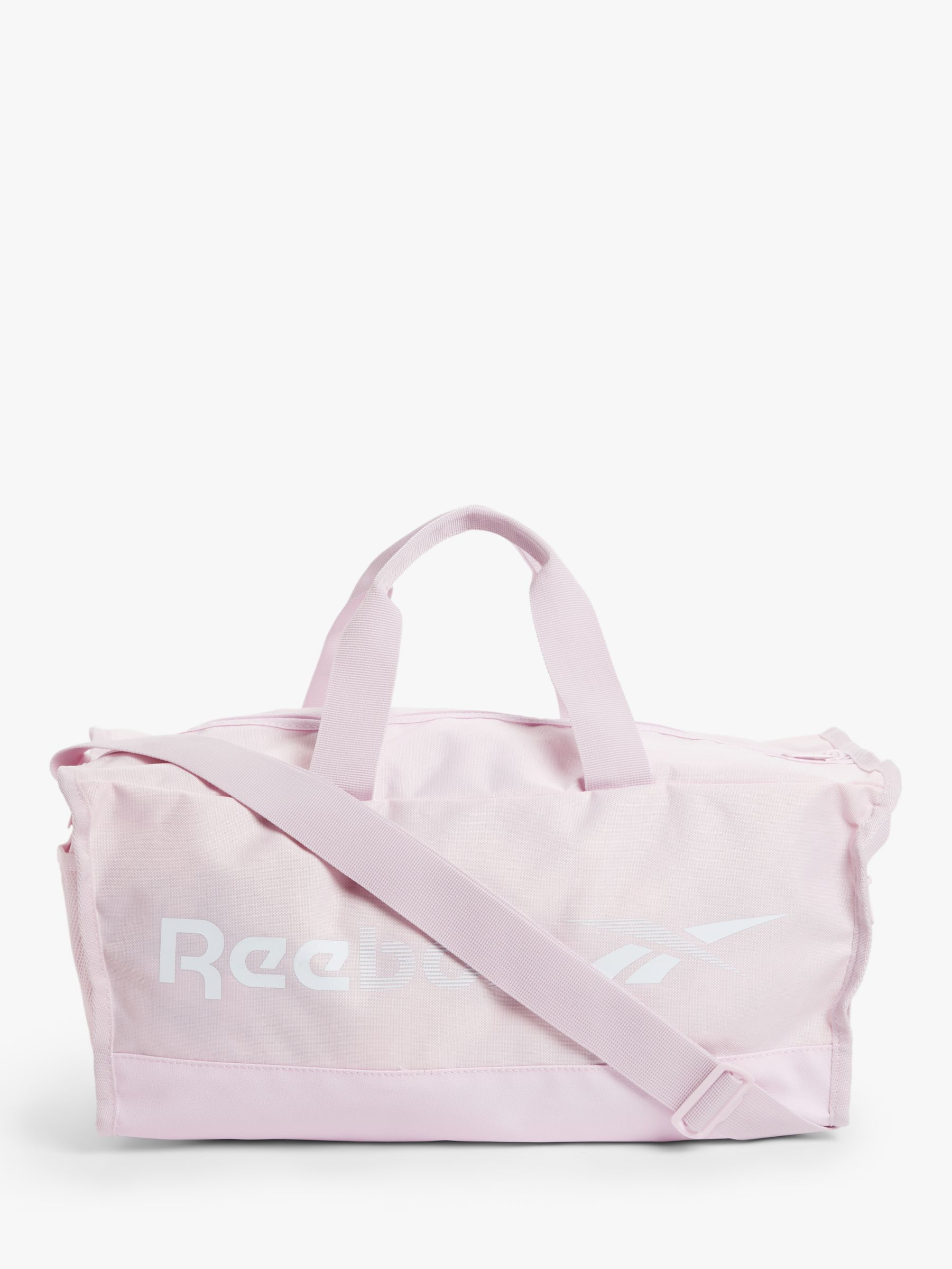 Reebok Reebok Training Essentials Small Grip Duffle Bag, Pixel Pink