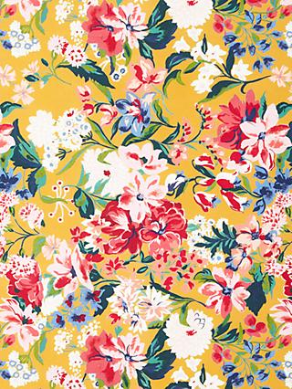 John Lewis & Partners Large Floral Print Fabric, Multi
