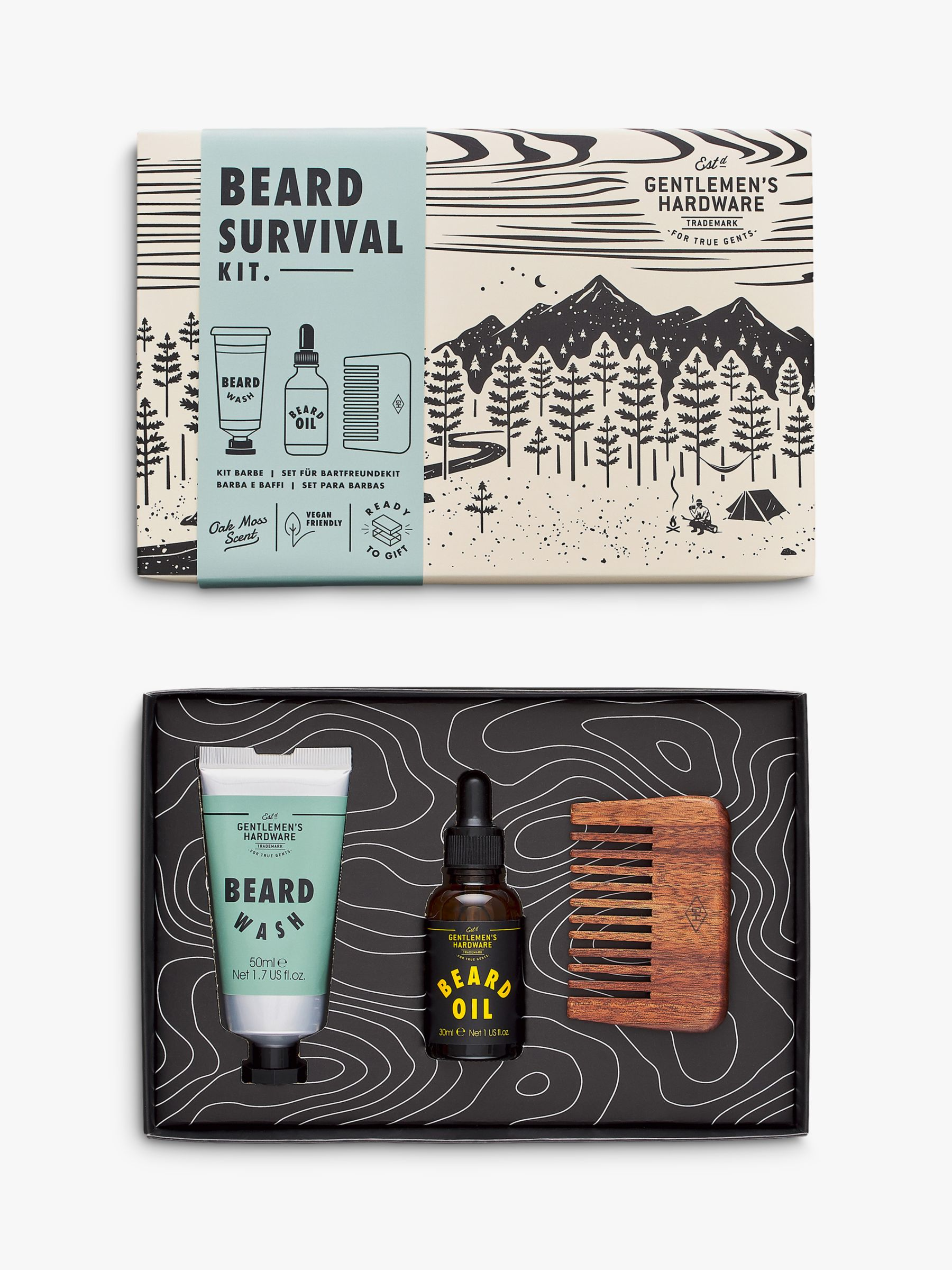 Gentlemen's Hardware Gentlemen's Hardware Beard Buddy Kit Gift Set