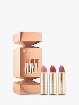 BECCA Party Popper Ultimate Lipstick Love Makeup Gift Set