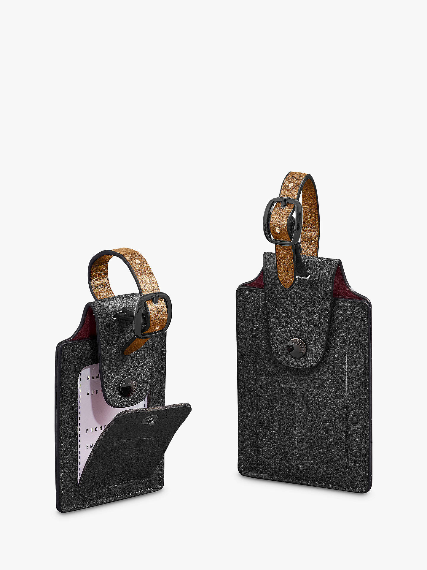 special for shoe super cute outlet online Ted Baker Ted's World Luggage Tag Set at John Lewis & Partners