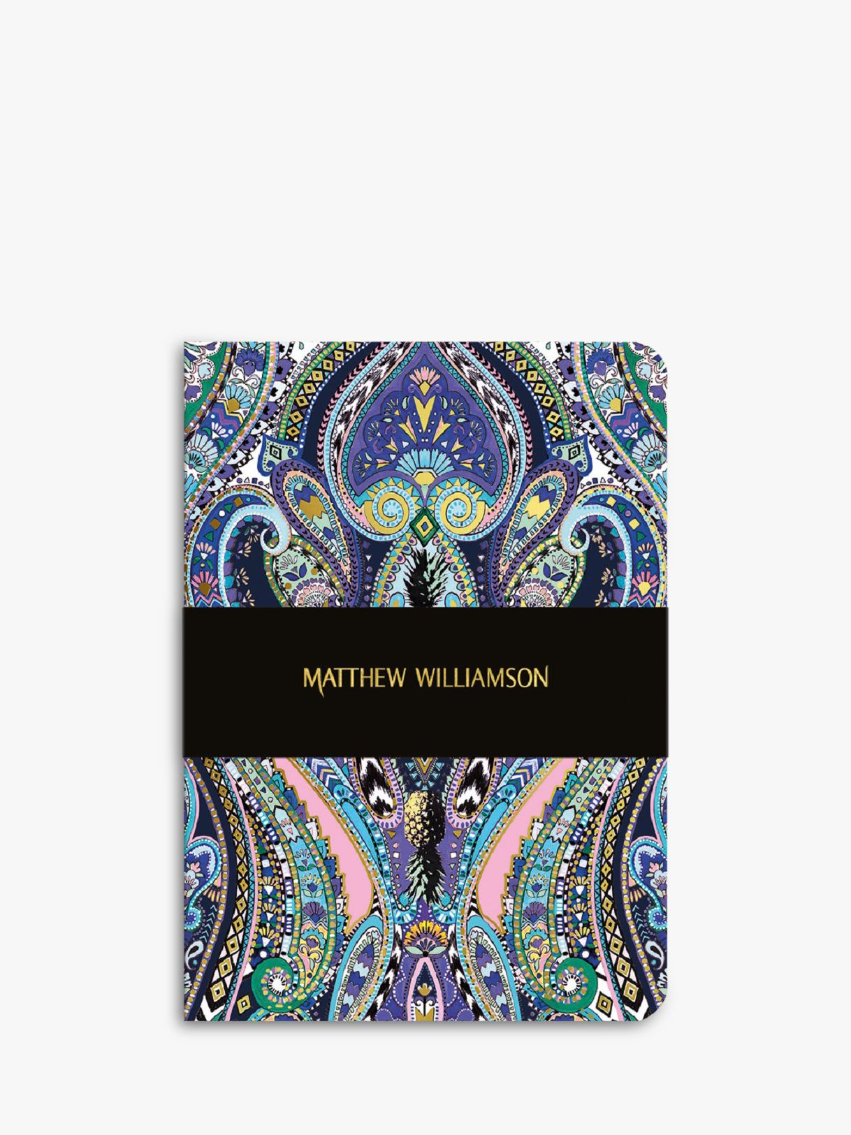 Museums & Galleries Museums & Galleries Matthew Williamson A5 Paisley Notebook