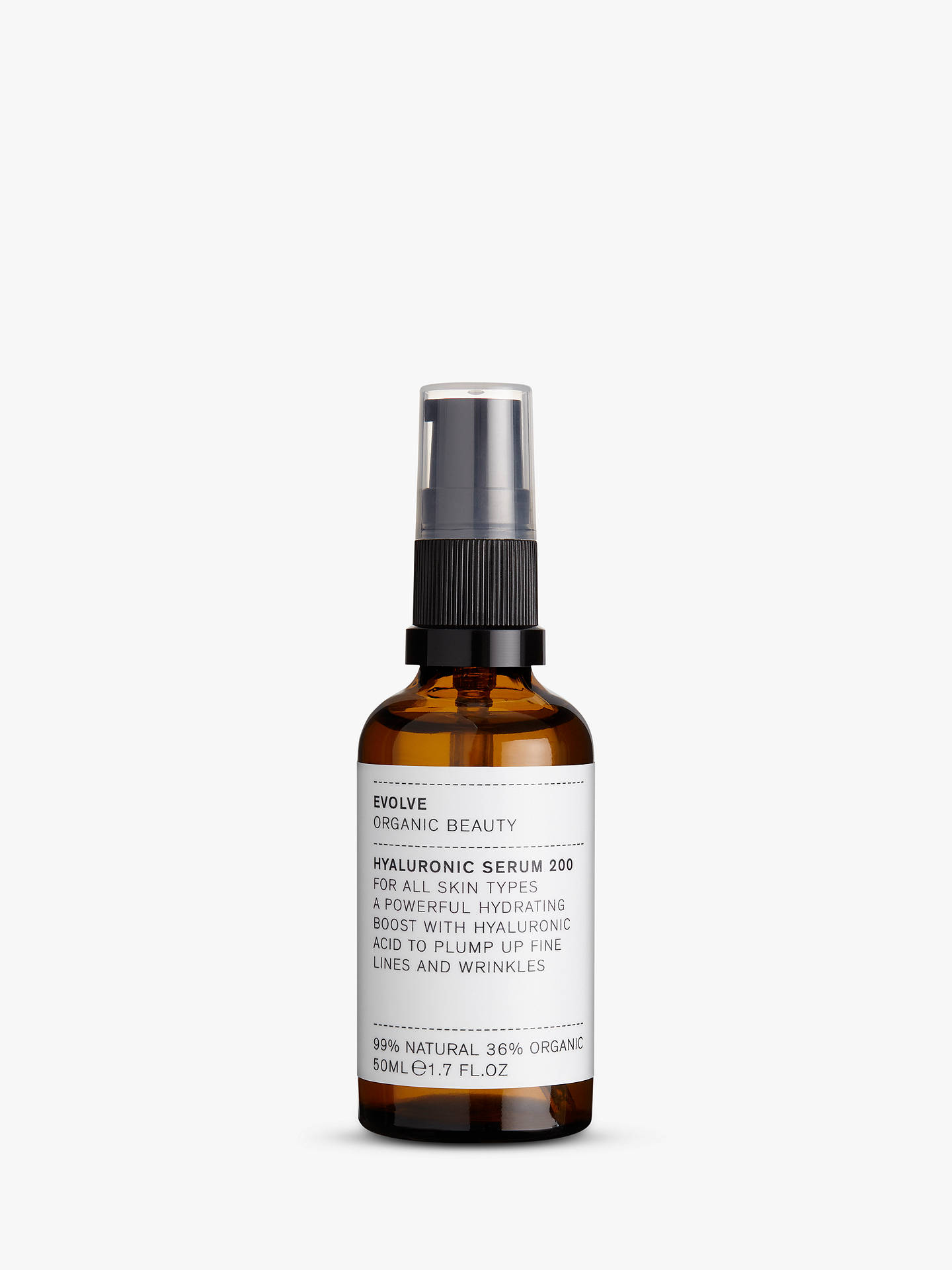 Evolve Organic Beauty Hyaluronic Serum 200, 50ml by Evolve Organic Beauty