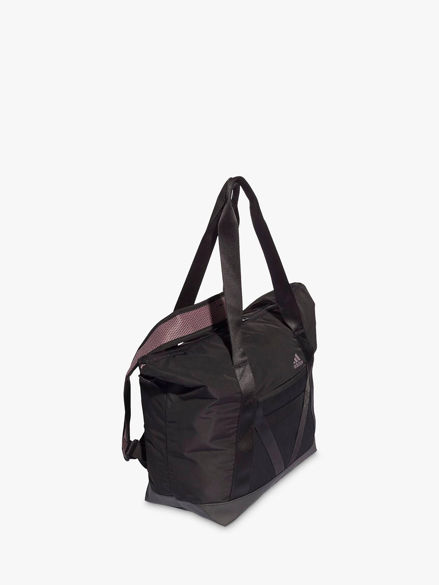 Expresión Se asemeja difícil  adidas ID Tote Bag, Black at John Lewis & Partners
