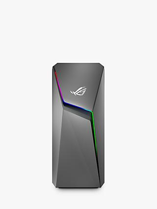 ASUS ROG STRIX GL10CS-UK042T Gaming PC, Intel Core i5 Processor, 8GB RAM, 1TB HDD + 256GB SSD, GeForce GTX 1660 Ti, Iron Grey