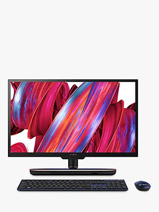 "ASUS Zen Z272SDK-BA177T All-in-One Desktop PC, Intel Core i7 Processor, 16GB RAM, 2TB HDD + 16GB Intel Optane, GeForce GTX 1050, 27"" Full HD, Black"