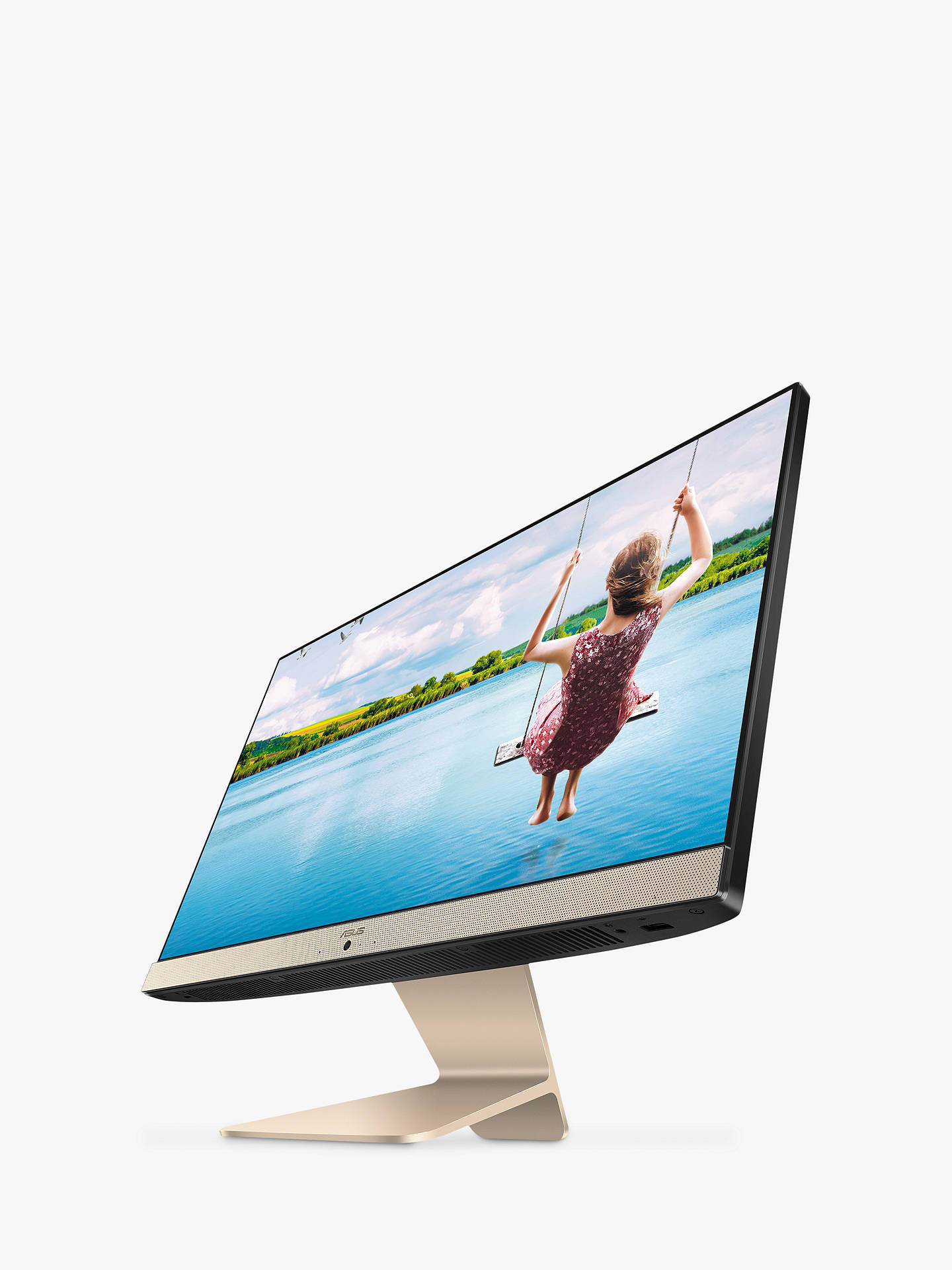 ASUS Vivo V222UAK-BA272T All-in-One Desktop PC, Intel Pentium J5005, 8GB  RAM, 2TB HDD, 21 5