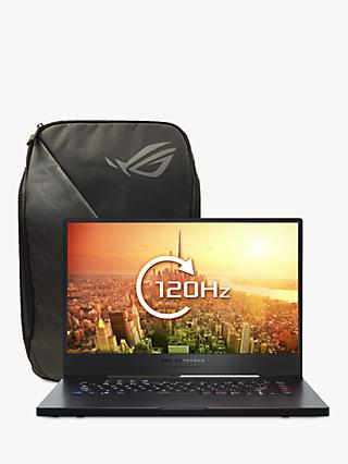 "ASUS ROG Zephyrus G GA502DU-AL026T Gaming Laptop, AMD Ryzen 7 Processor, 16GM RAM, 512GB SSD, GeForce GTX 1660 Ti with Max-Q, 15.6"" Full HD, Black"