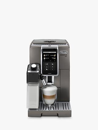 De'Longhi ECAM370.95.T Dinamica Plus Bean to Cup Coffee Machine, Silver