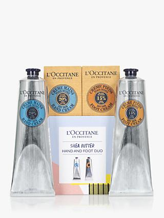 L'Occitane Shea Butter Hand and Foot Duo Limited Edition Set