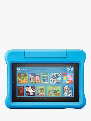 Amazon Fire 7 Kids Edition Tablet (9th Generation) with Kid-Proof Case, Quad-core, Fire OS, Wi-Fi, 16GB, 7""