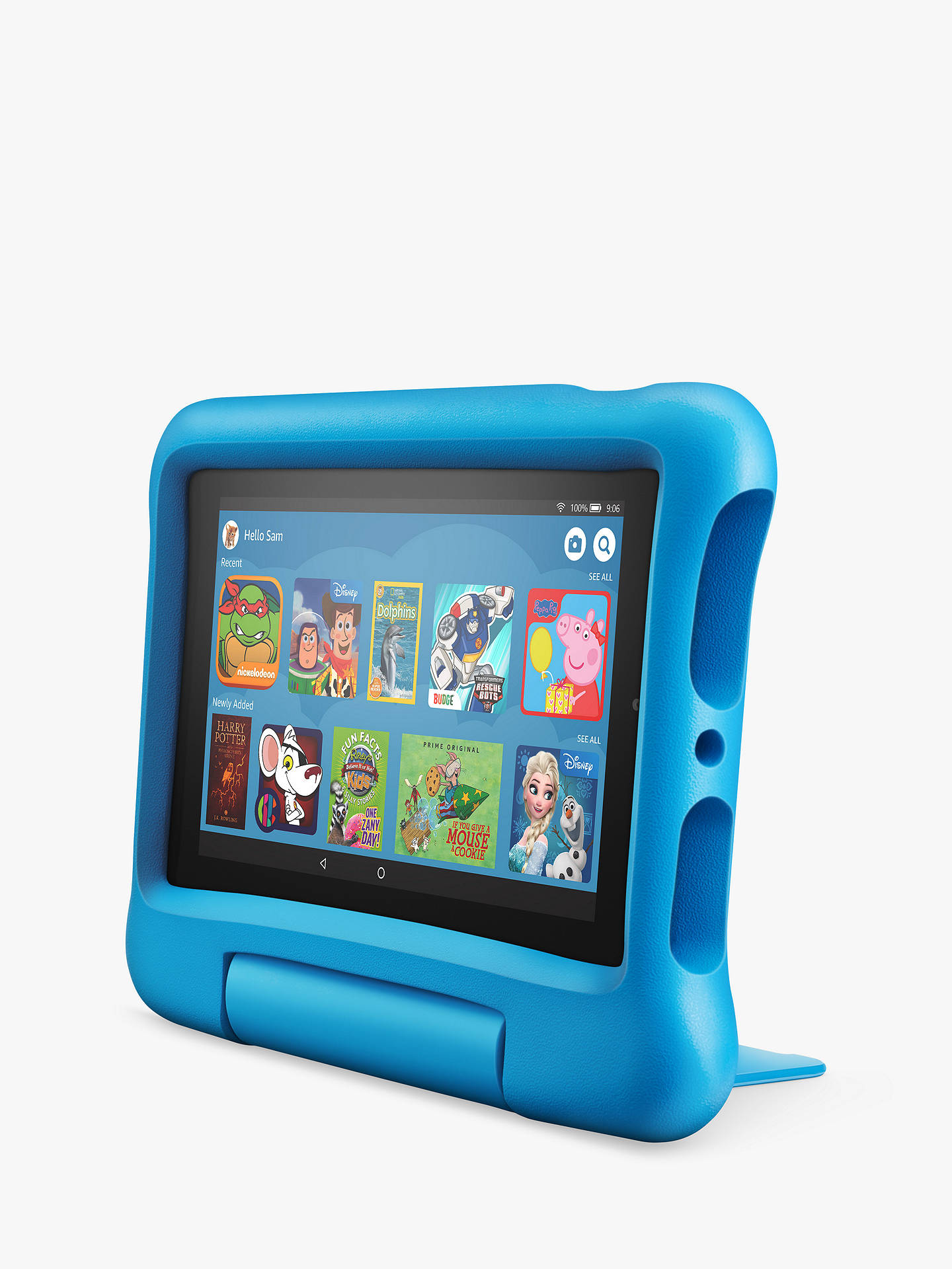 17a6095009140 Amazon Fire 7 Kids Edition Tablet (9th Generation) with Kid-Proof Case,  Quad-core, Fire OS, Wi-Fi, 16GB, 7