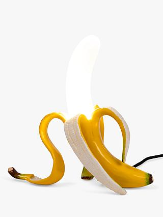 Seletti Louie Banana LED Table Lamp, Yellow