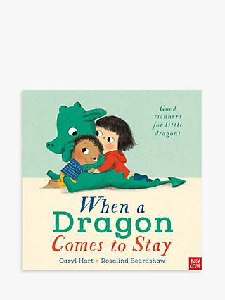 Dragon Comes To Stay Children's Book