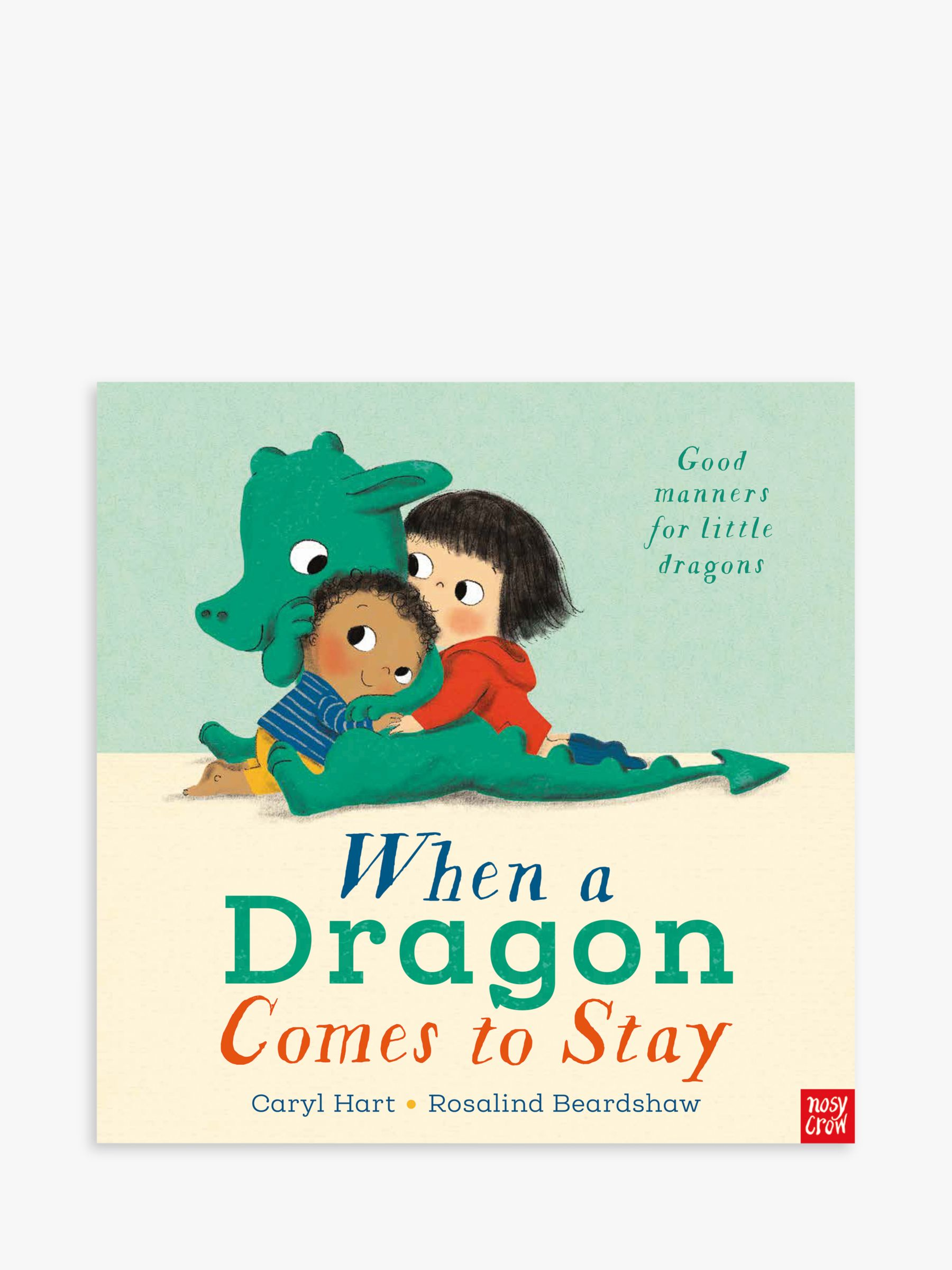 Nosy Crow Dragon Comes To Stay Children's Book