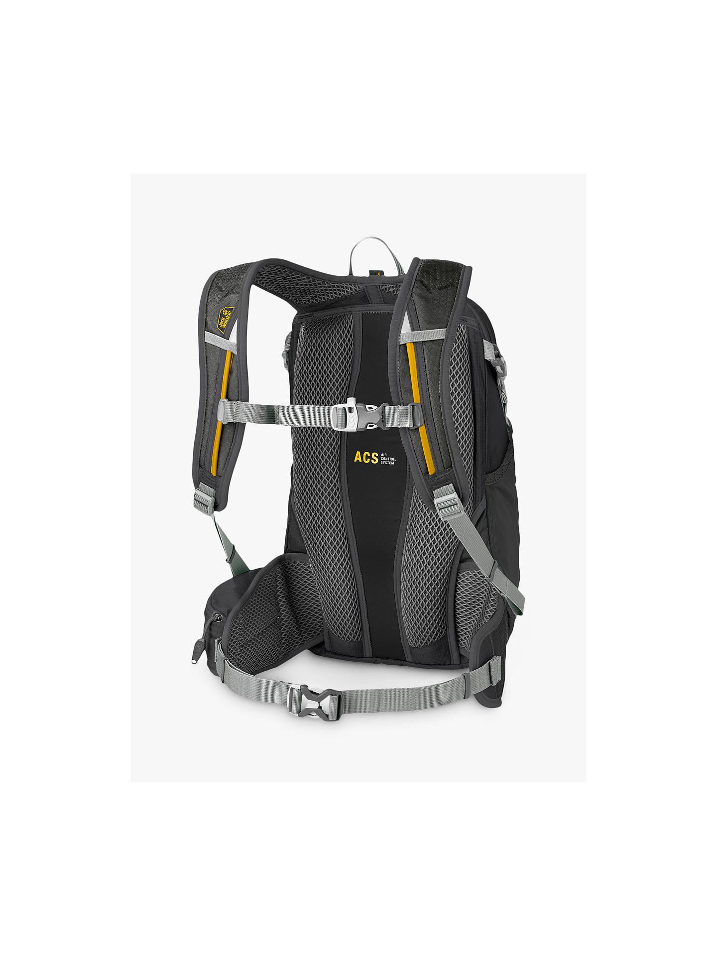 Jack Wolfskin MOAB Jam 18 Backpack, Black
