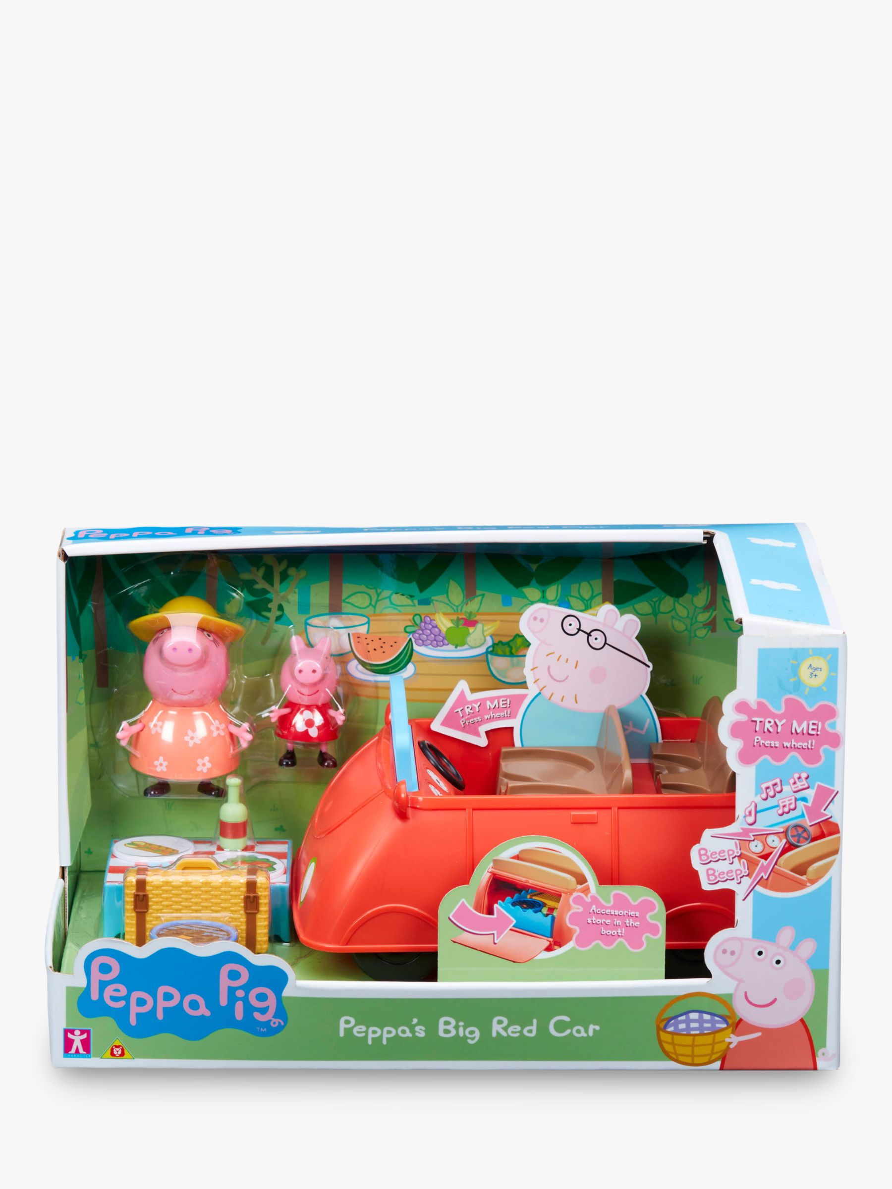 Peppa Pig Peppa Pig Peppa's Big Red Car