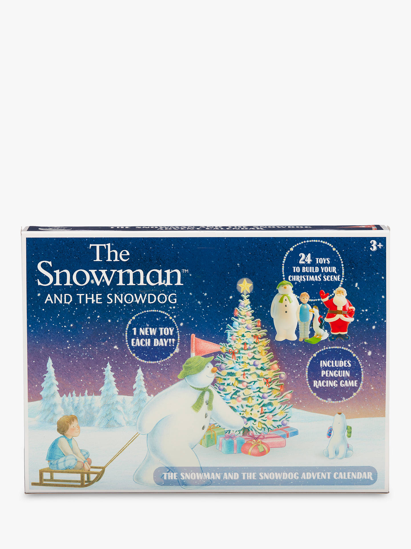 The Snowman And The Snowdog Toy Advent Calendar by The Snowman And The Snowdog