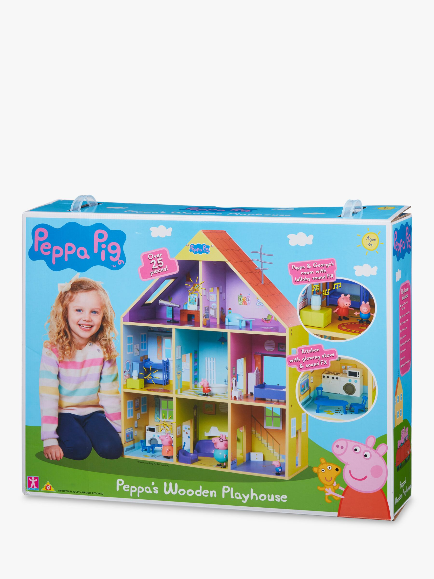 Peppa Pig Peppa Pig Peppa's Wooden Playhouse