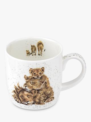 Wrendale Designs Lion Family Pride Mug, 310ml
