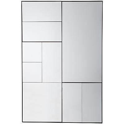 Ampla Rectangular Mirror, 122 x 81cm, Black
