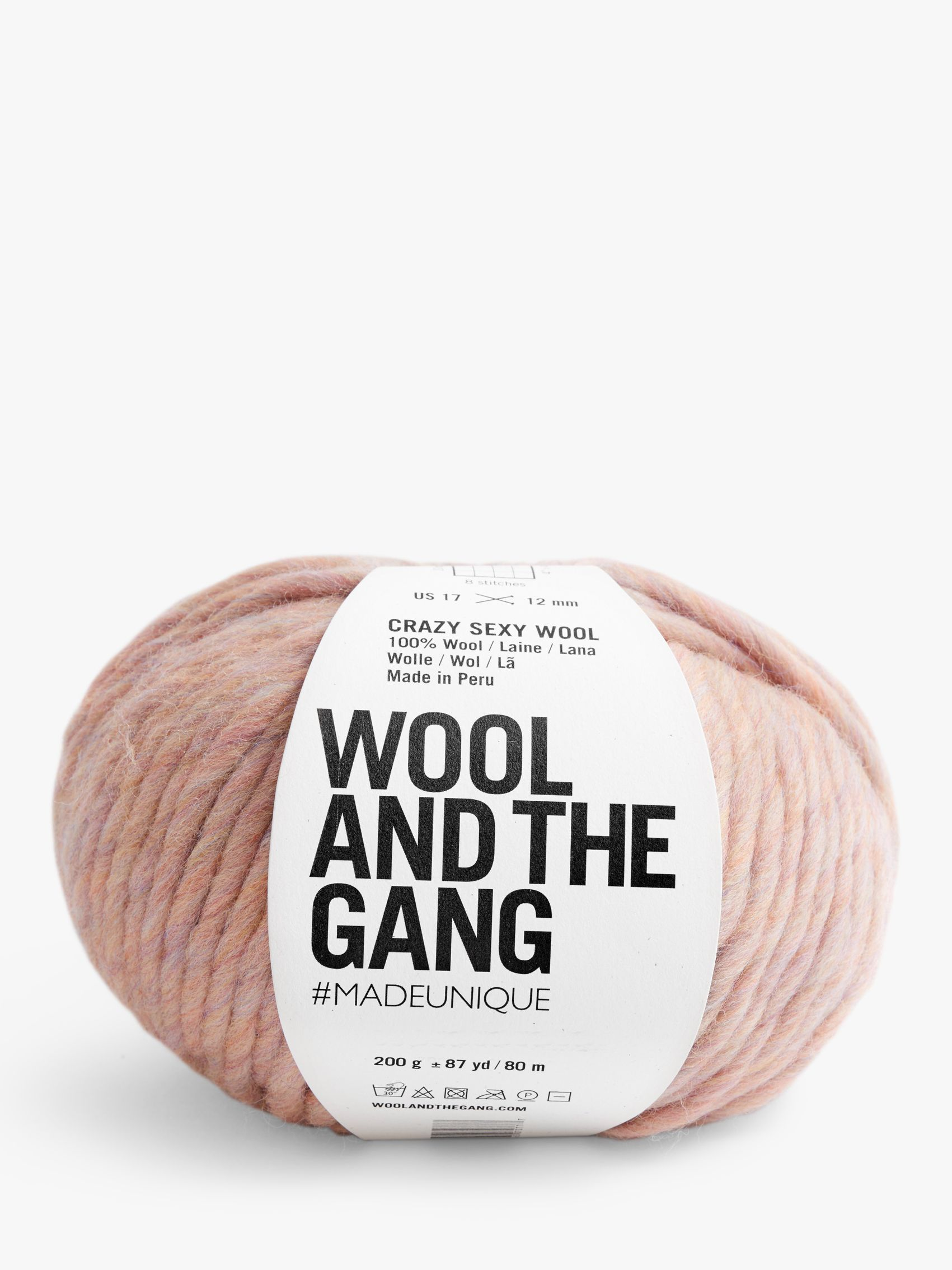 Wool and the Gang Wool And The Gang Crazy Sexy Wool Yarn, 200g