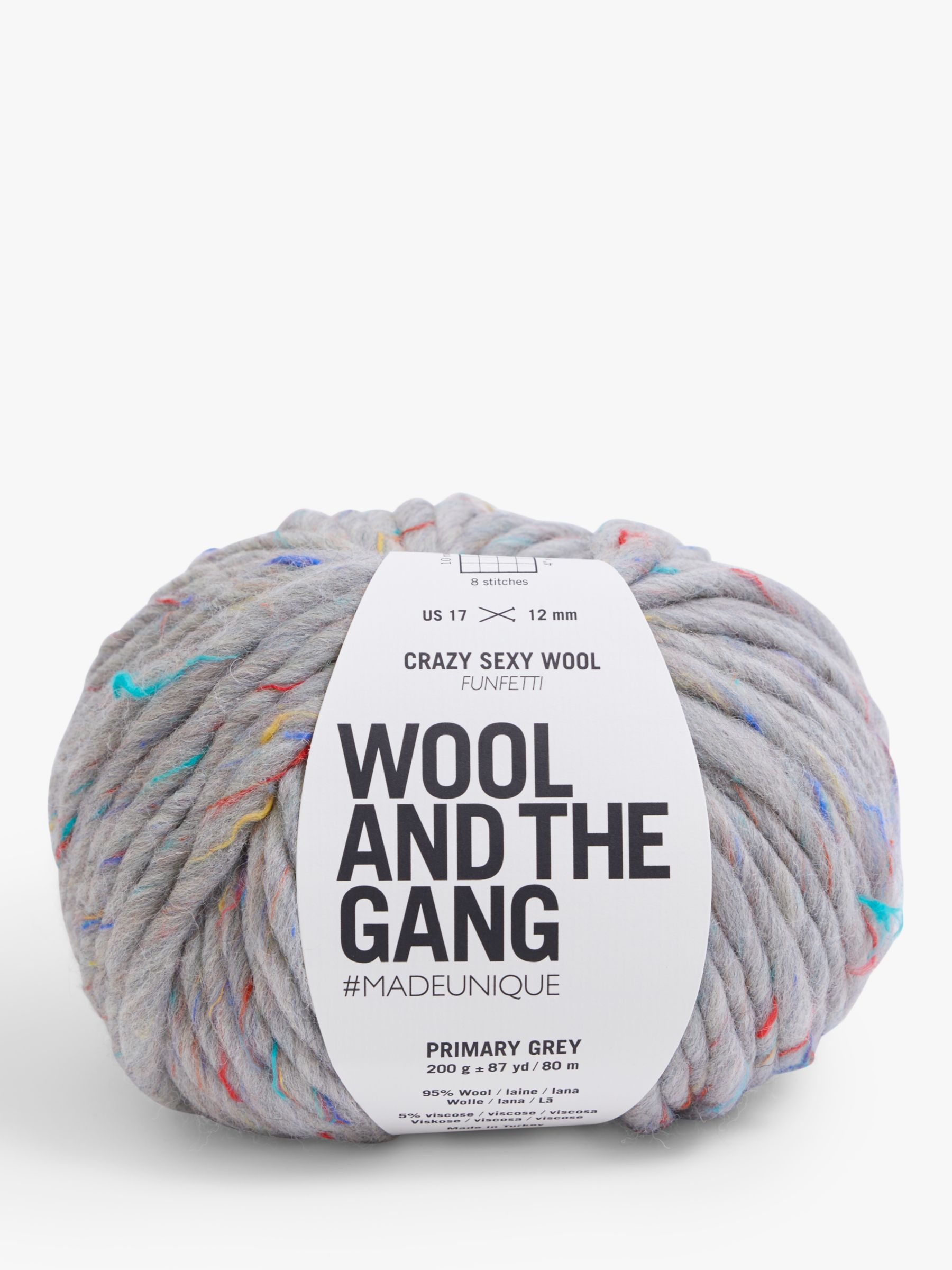 Wool and the Gang Wool And The Gang Crazy Sexy Funfetti Speckled Yarn, 200g