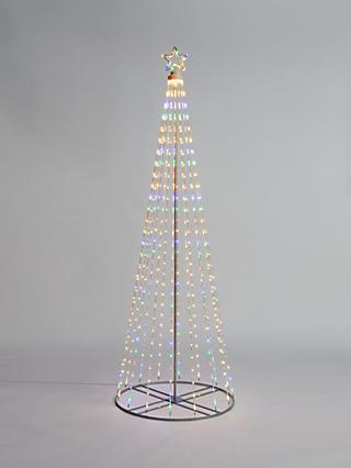 John Lewis & Partners LED Maypole Tree Christmas Light, Large