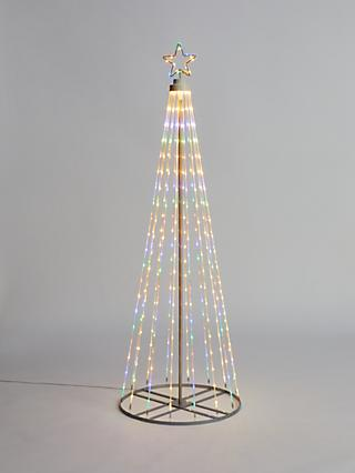John Lewis & Partners LED Maypole Tree Christmas Light, Small