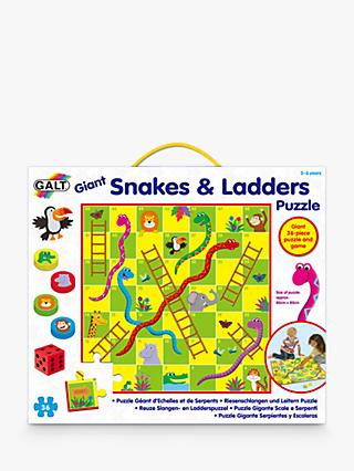Galt Giant Snakes and Ladders Puzzle Game