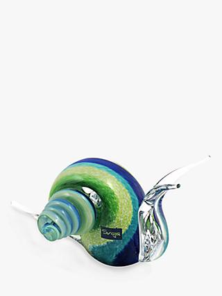 Svaja Sidney Snail Junior Ornament, Blue/Green