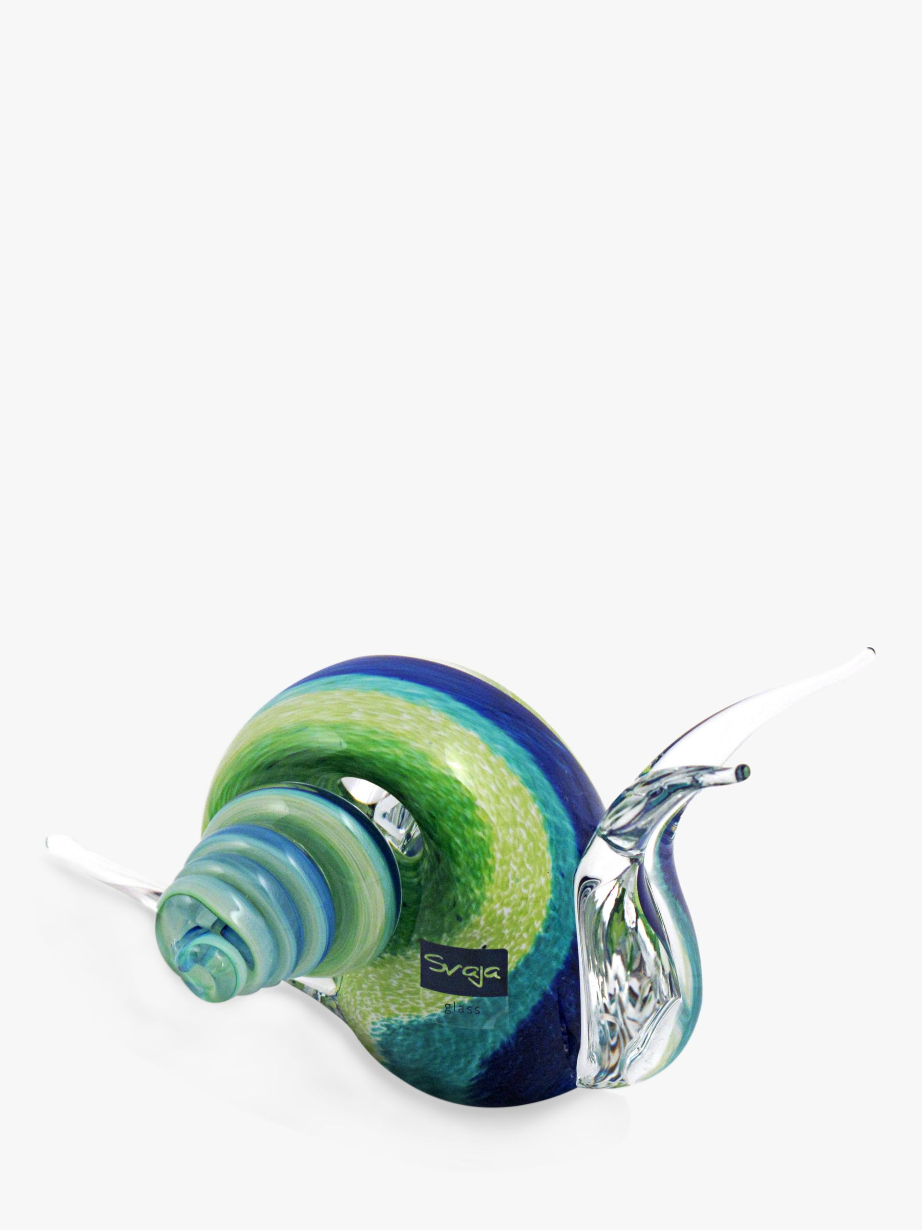 Svaja Svaja Sidney Snail Junior Ornament, Blue/Green