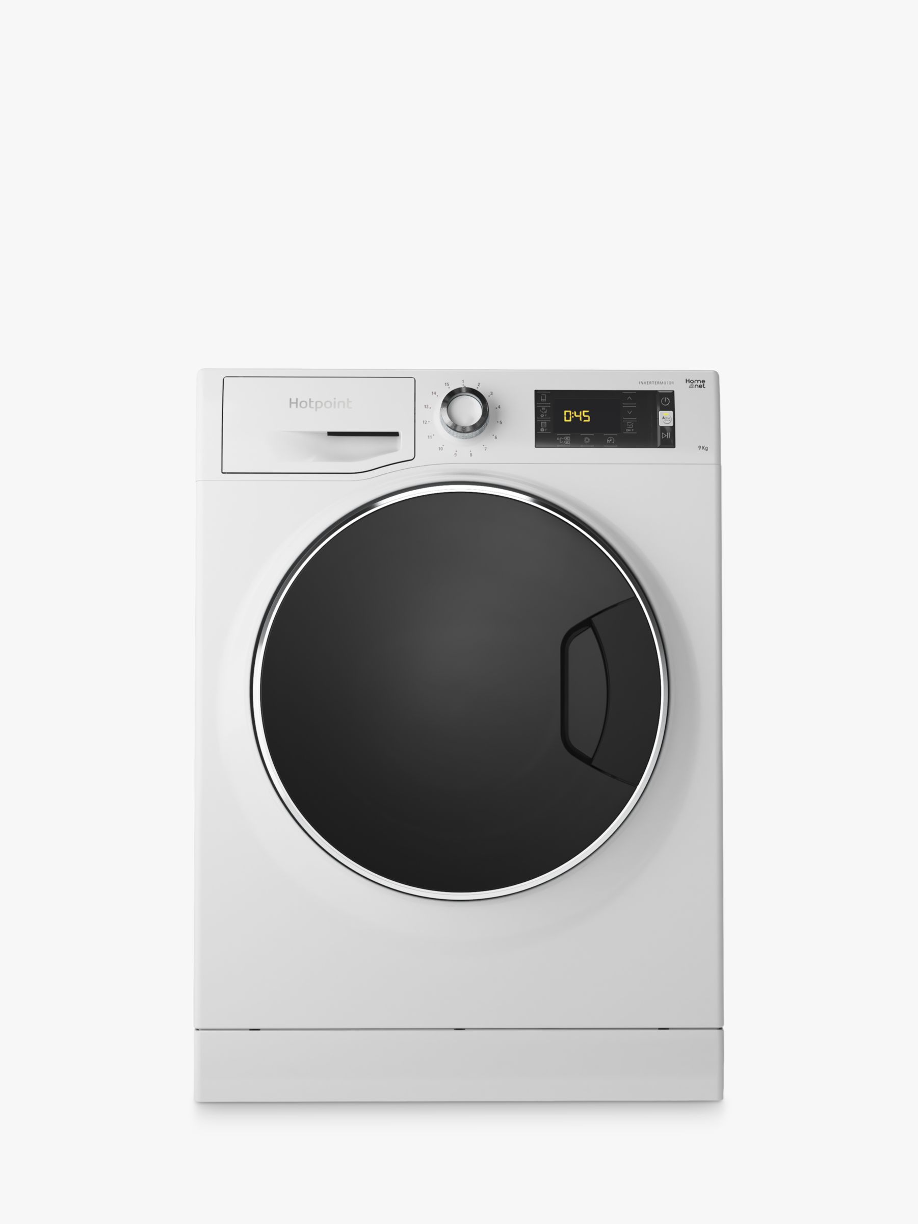 Hotpoint Hotpoint NLLCD947WDADWUK Freestanding Washing Machine, 9kg Load, 1400rpm, A+++ Energy Rating, White
