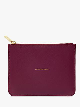 Estella Bartlett Small Pouch Purse, Burgundy